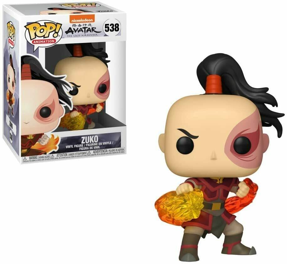 Funko Pop Zuko #538 - Avatar