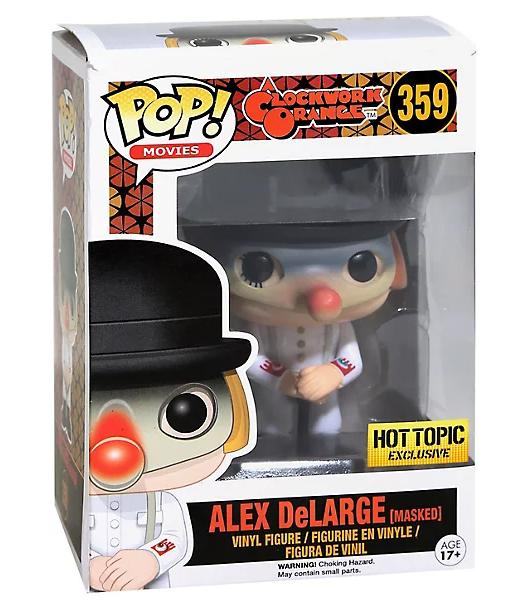 Funko Pop! Alex DeLarge (Masked) - A Clockwork Orange