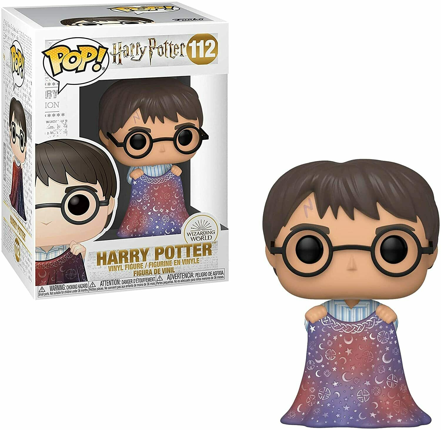 Funko Pop! Harry Potter Capa Invisibilidad #112