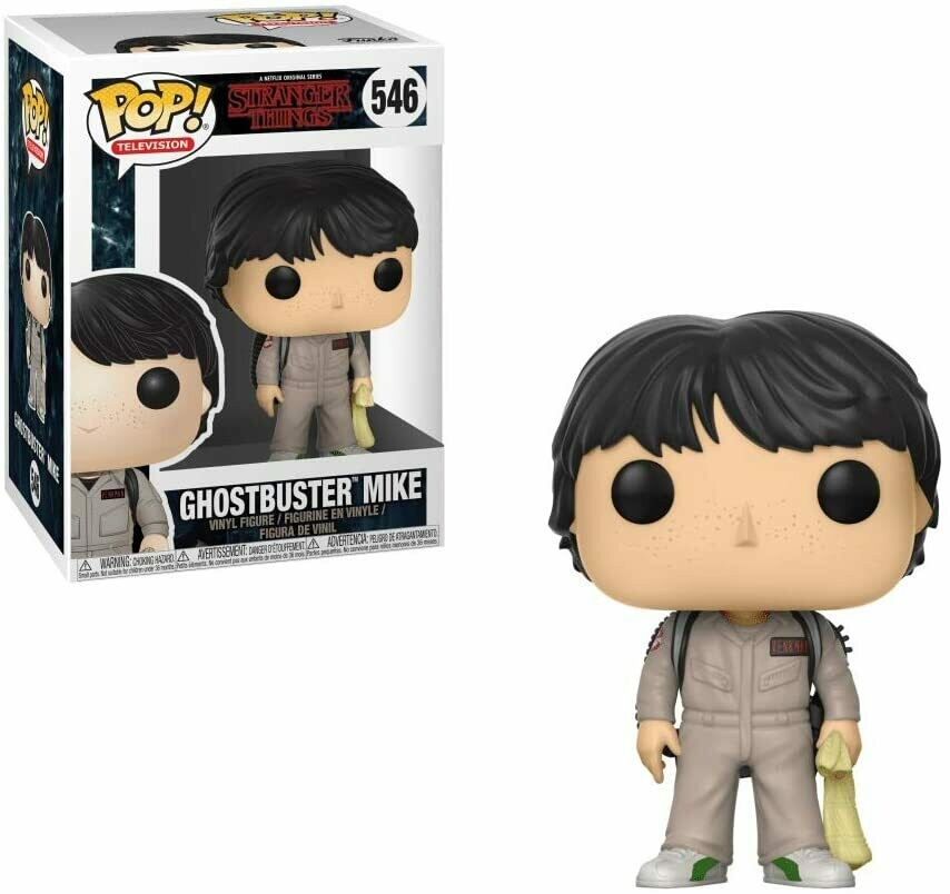 Funko Pop! Ghostbuster Mike #546 Stranger Things