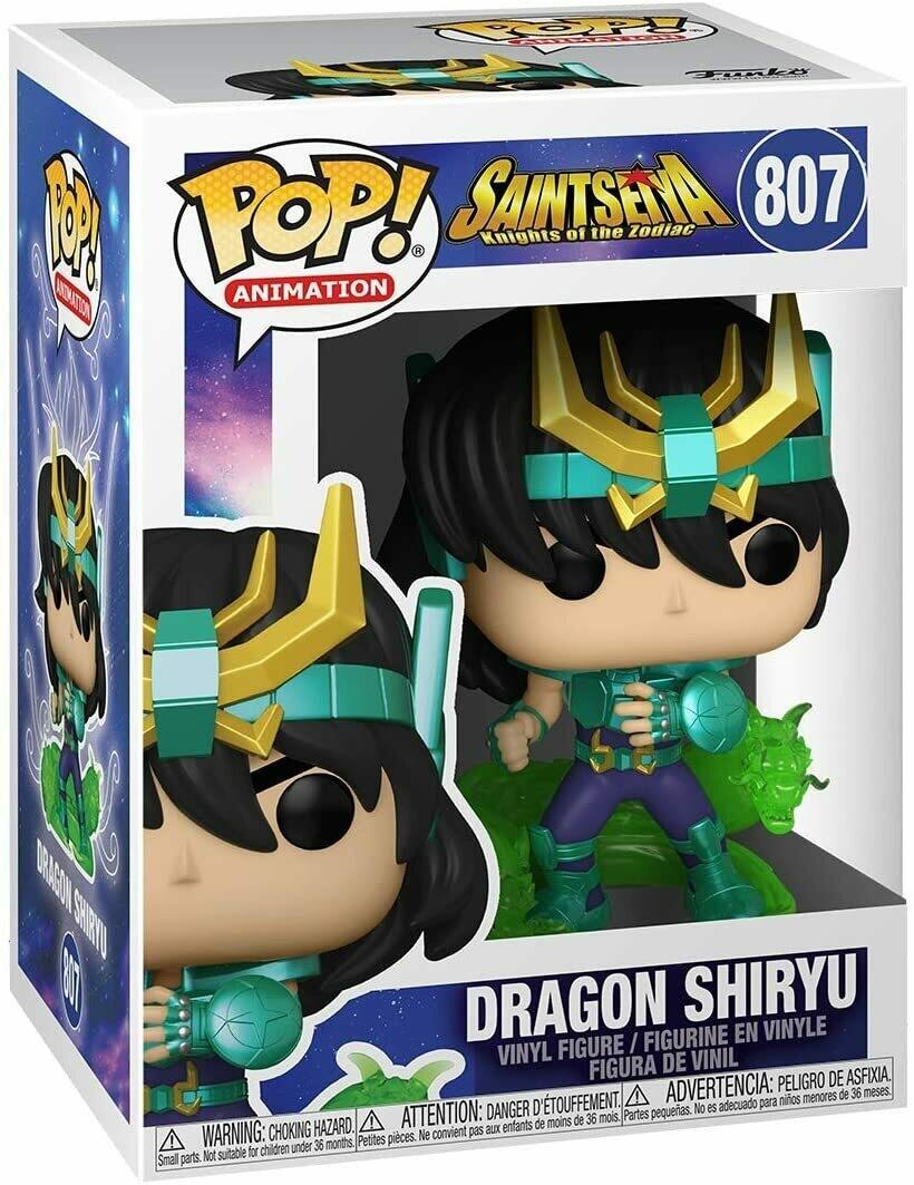 Funko Pop! Dragon Shiryu #807- Caballeros del Zodiaco