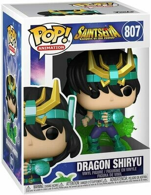 Funko Pop! Dragon Shiryu #807- Caballeros del Zodiaco