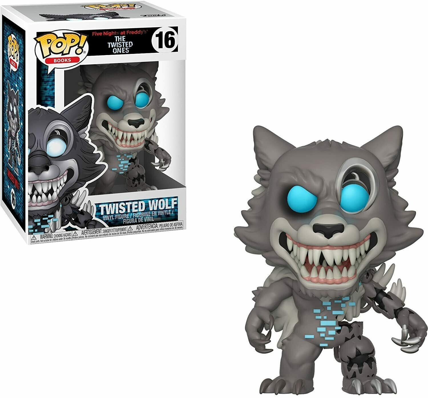 Funko Pop! Twisted Wolf #16 - Five Nights at Freddy's