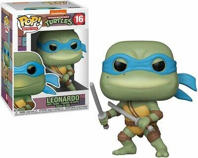 Funko Pop! Leonardo #16 - Tortugas Ninja
