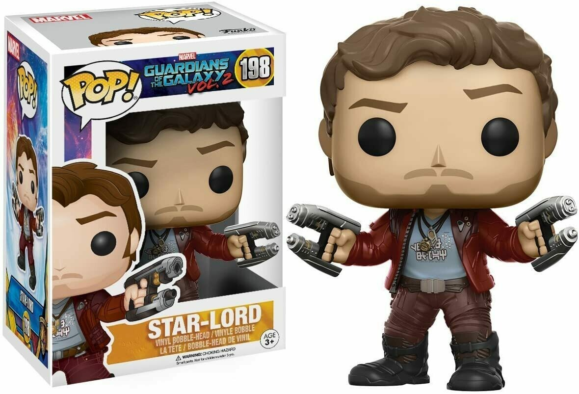 Funko Pop! Star Lord #198 - Guardianes de la Galaxia 2