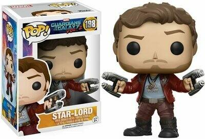Funko Pop! Star Lord #198 - Guardianes de la Galaxia 2