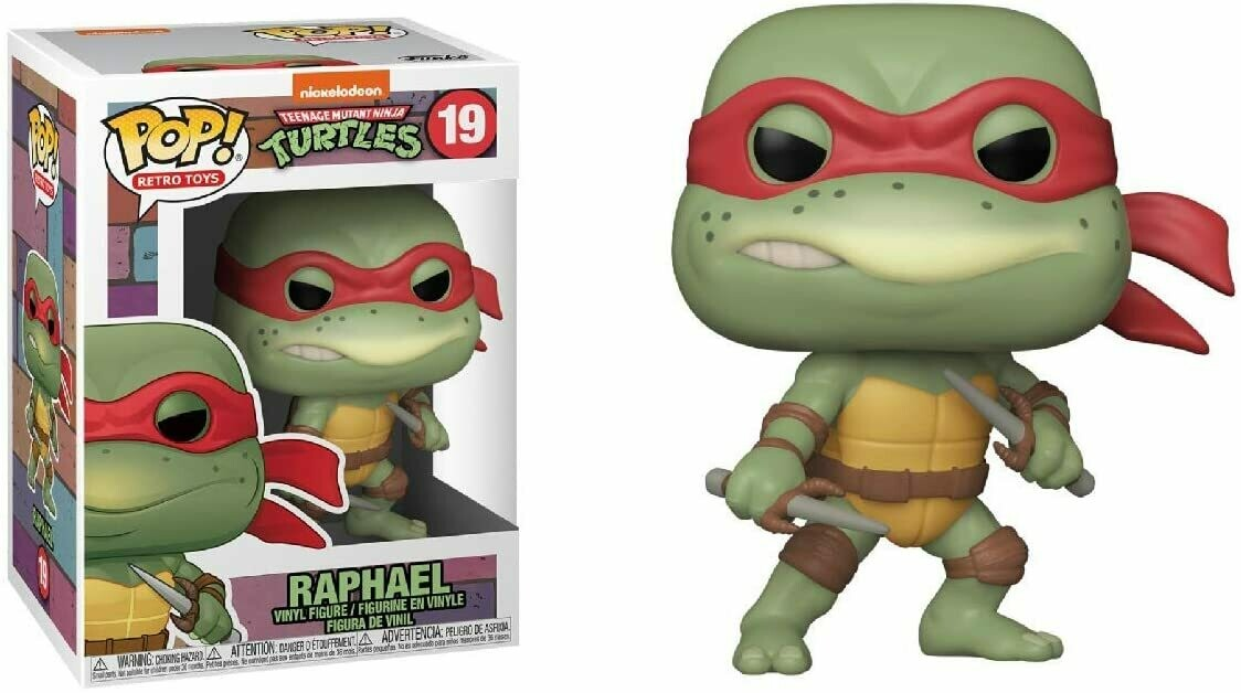 Funko Pop! Raphael #19 - Tortugas Ninja