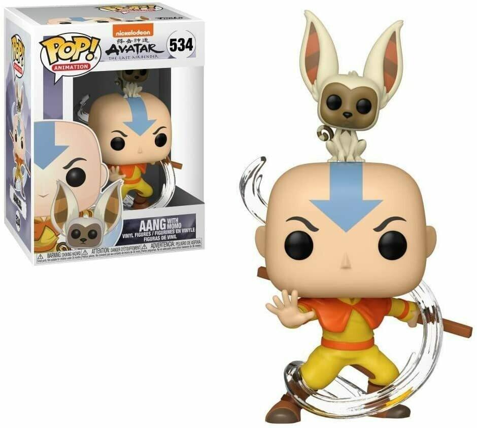 Funko Pop! Aang con Momo #534 - Avatar