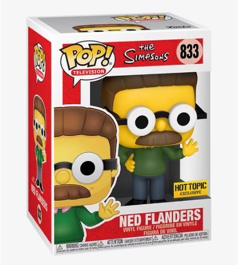Funko Pop! Ned Flanders #833 - Los Simpsons