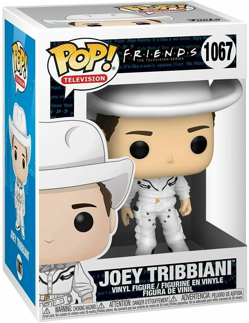Funko Pop Joey Tribbiani Vaquero #1067 - Friends