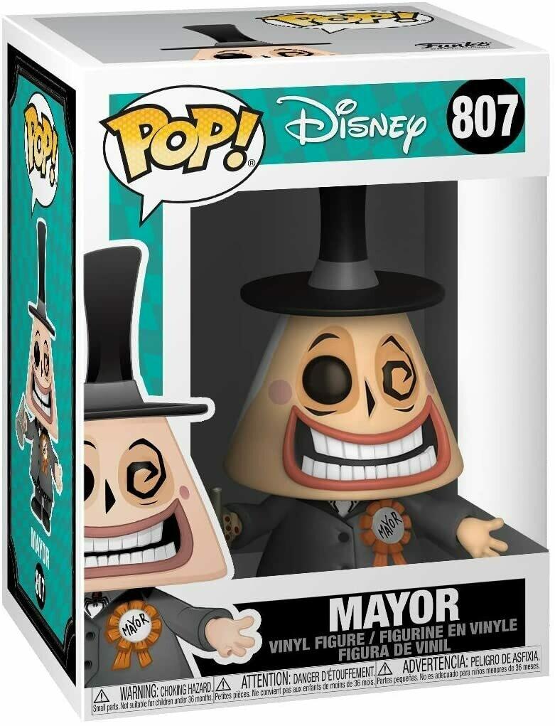 Funko Pop! Disney Alcalde (Mayor) Extraño mundo de Jack