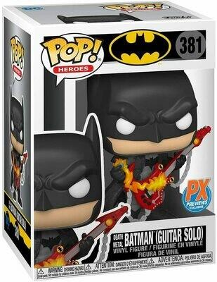 Funko Pop! Death Metal Batman (Guitar Solo) #381