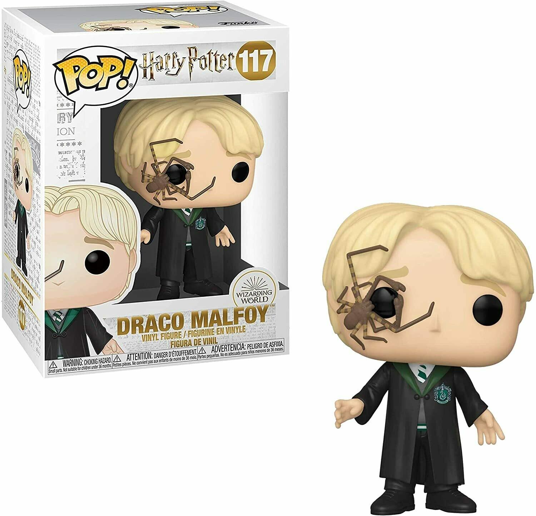 Funko Pop! Draco Malfoy con Araña #117 - Harry Potter