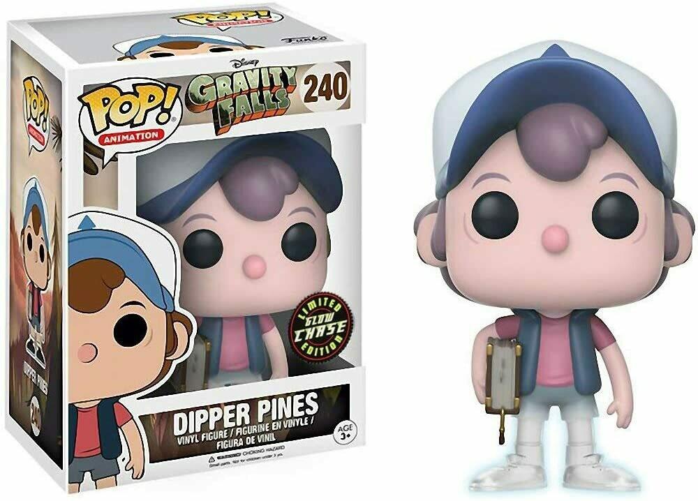 Funko Pop! Dipper Pines - Gravity Falls Chase
