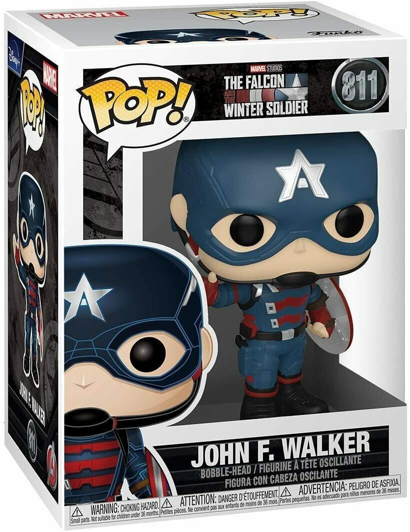 Funko Pop! John F. Walker Falcon y Soldado de Invierno