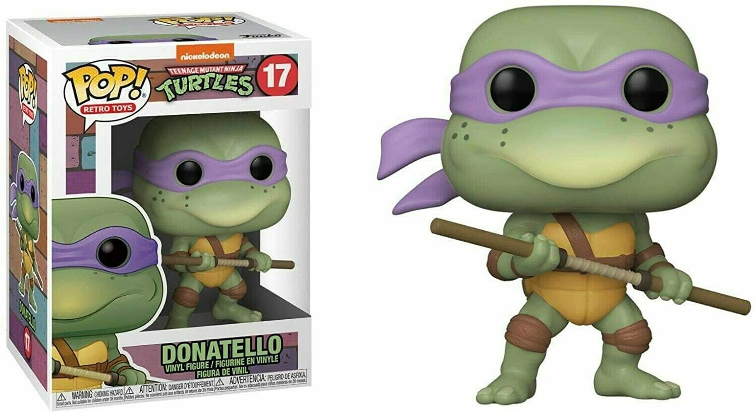 Funko Pop! Donatello #17 - Tortugas Ninja
