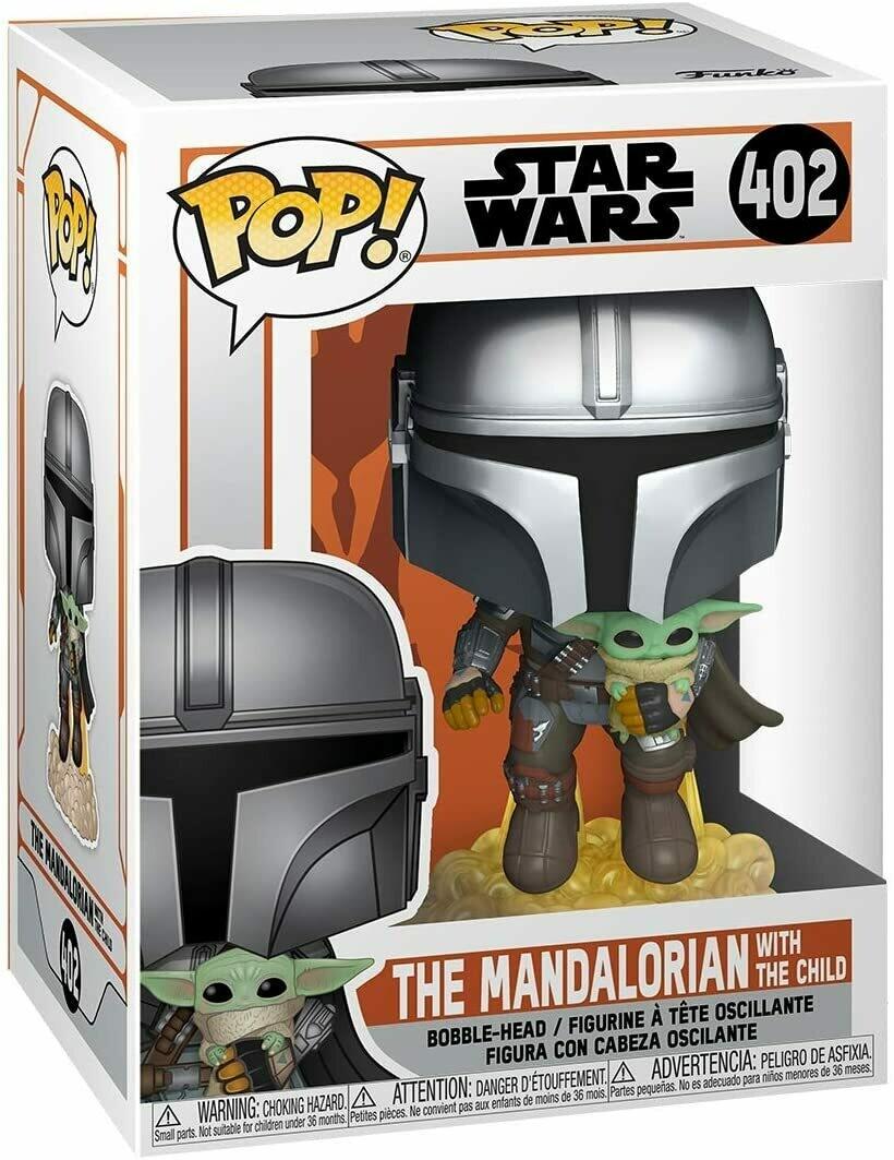 Funko Pop! Mandalorian & The Child Baby Yoda Star Wars