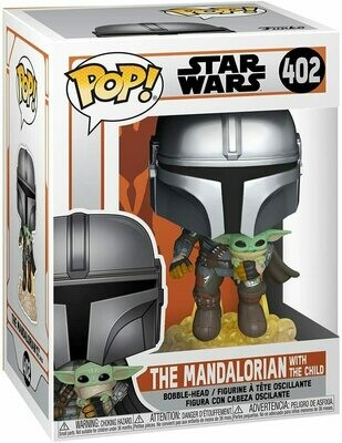 Funko Pop! Mandalorian & The Child Baby Yoda Star Wars