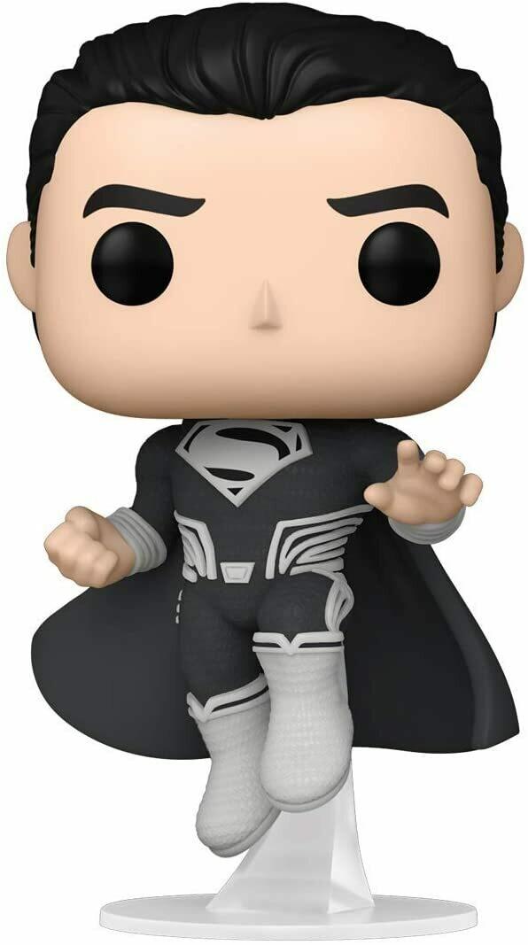Funko Pop! Superman Traje Negro  Zack Snyd Liga Justicia