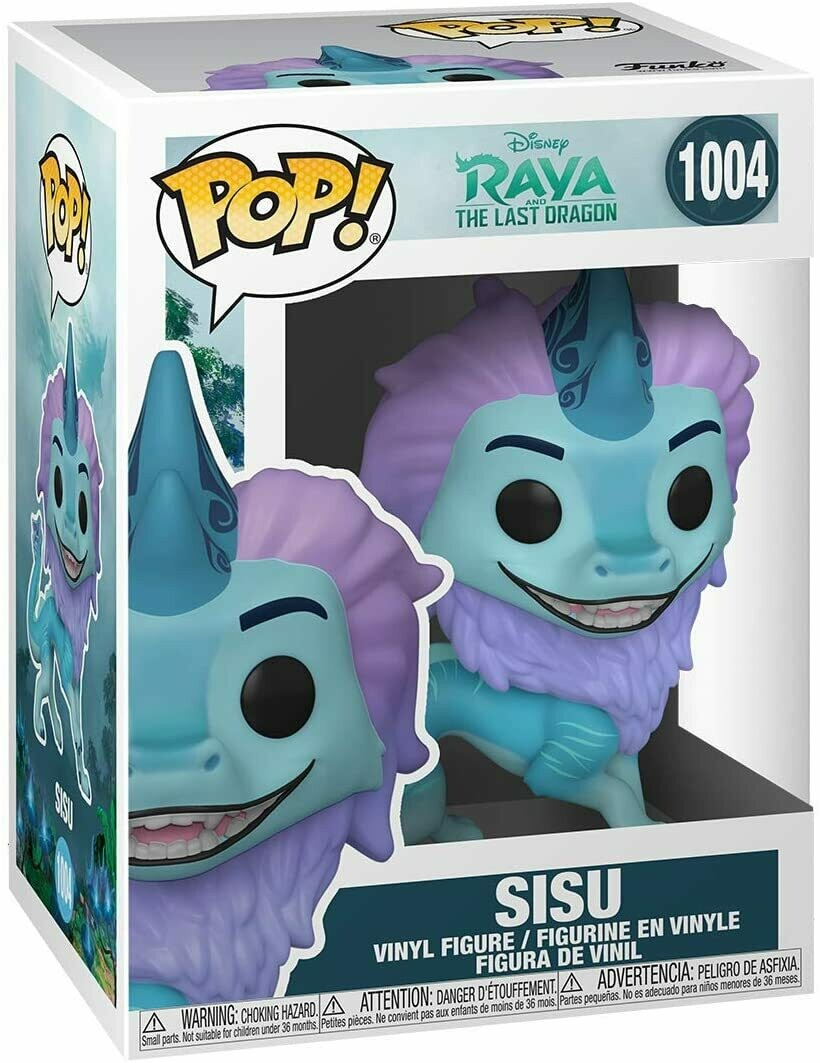 Funko Pop! Disney: Sisu #1004 - Raya y el ultimo Dragon
