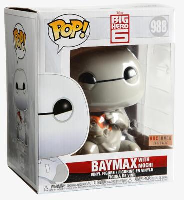 Funko Pop! Disney: Baymax con Mochi #988 - Big Hero 6