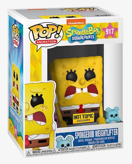 Funko Pop! Bob Esponja Levantador de Pesas #917