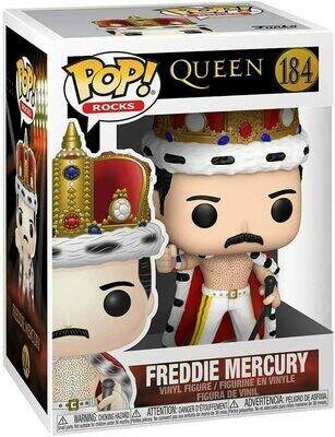 Funko Pop! Freddie Mercury (King) #184 - Queen