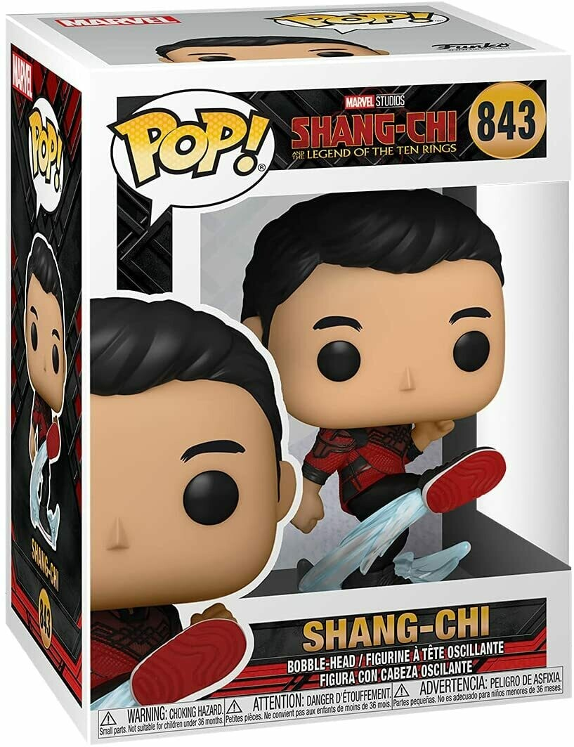 Funko Pop! Shang Chi #843 Shang-Chi Leyenda 10 Anillos