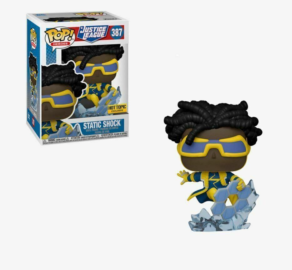 Funko Pop! Static Shock #387 - Justice League