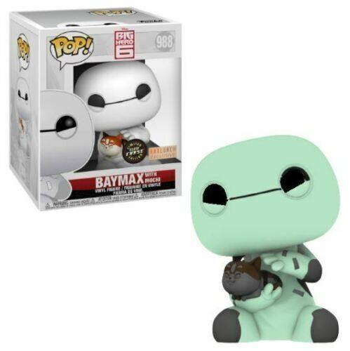 Funko Pop! Baymax con Mochi #988 Big Hero 6 Glow Chase