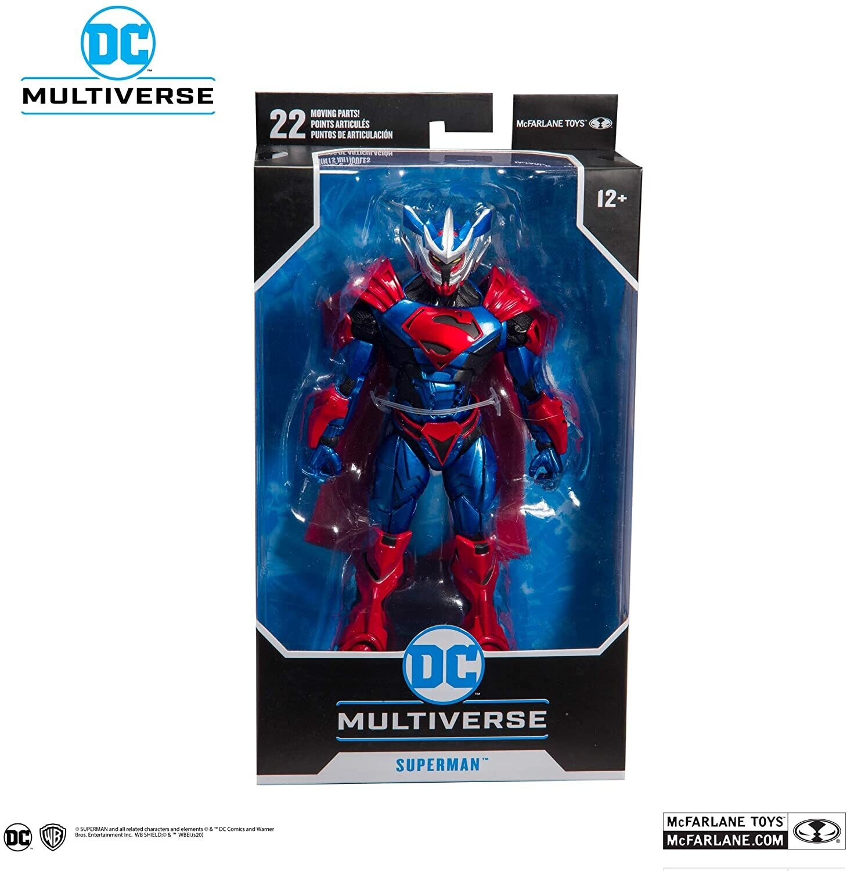 Figura Acción Superman Unchained Armor McFarlane Toys