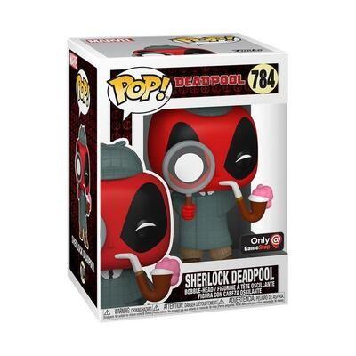 Funko Pop! Deadpool Sherlock Detective #784