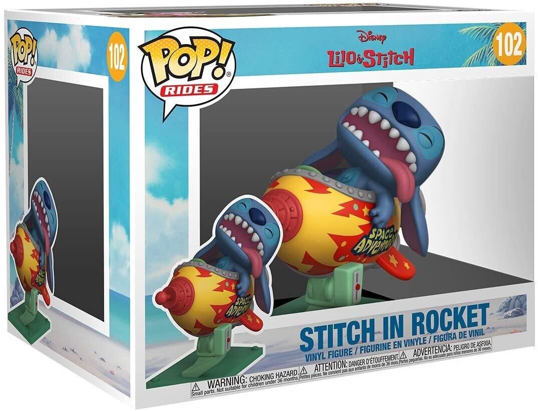 Funko Pop! Rides: Stitch en Cohete #102 - Lilo & Stitch