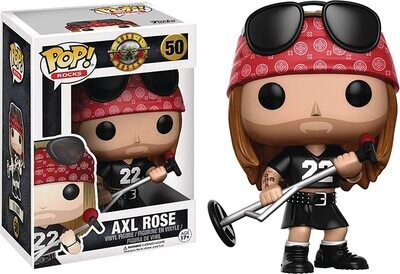 Funko Pop! Axl Rose #50 - Guns N Roses