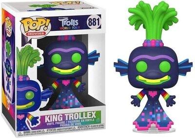 Funko Pop! King Trollex #881 - Trolls World Tour