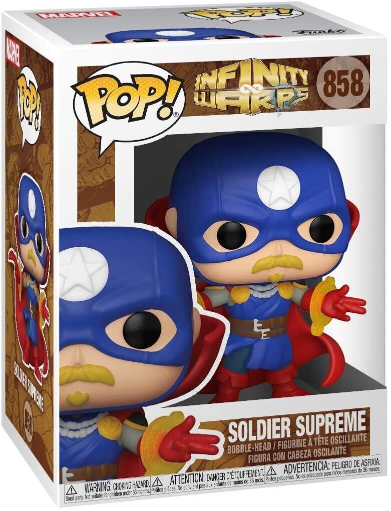 Funko Pop! Soldier Supreme #858 - Marvel Infinity Warps