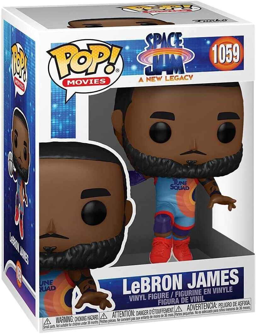 Funko Pop! Lebron James #1059 - Space Jam New Legacy
