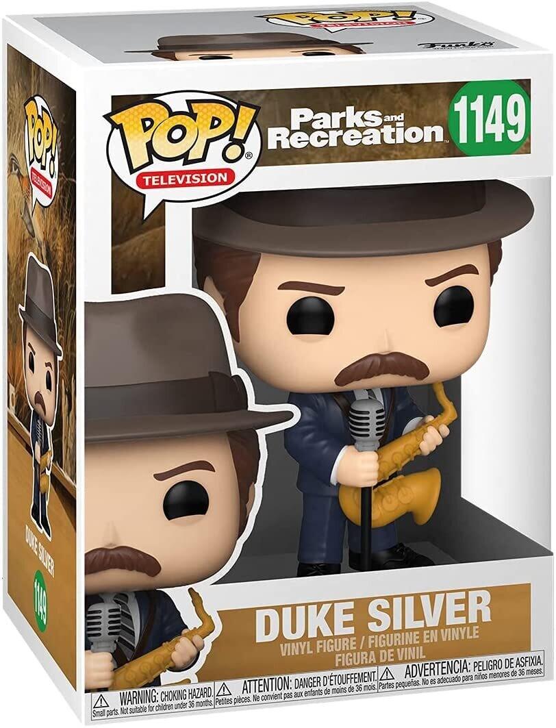 Funko Pop! Duke Silver #1149 - Parks & Recreations