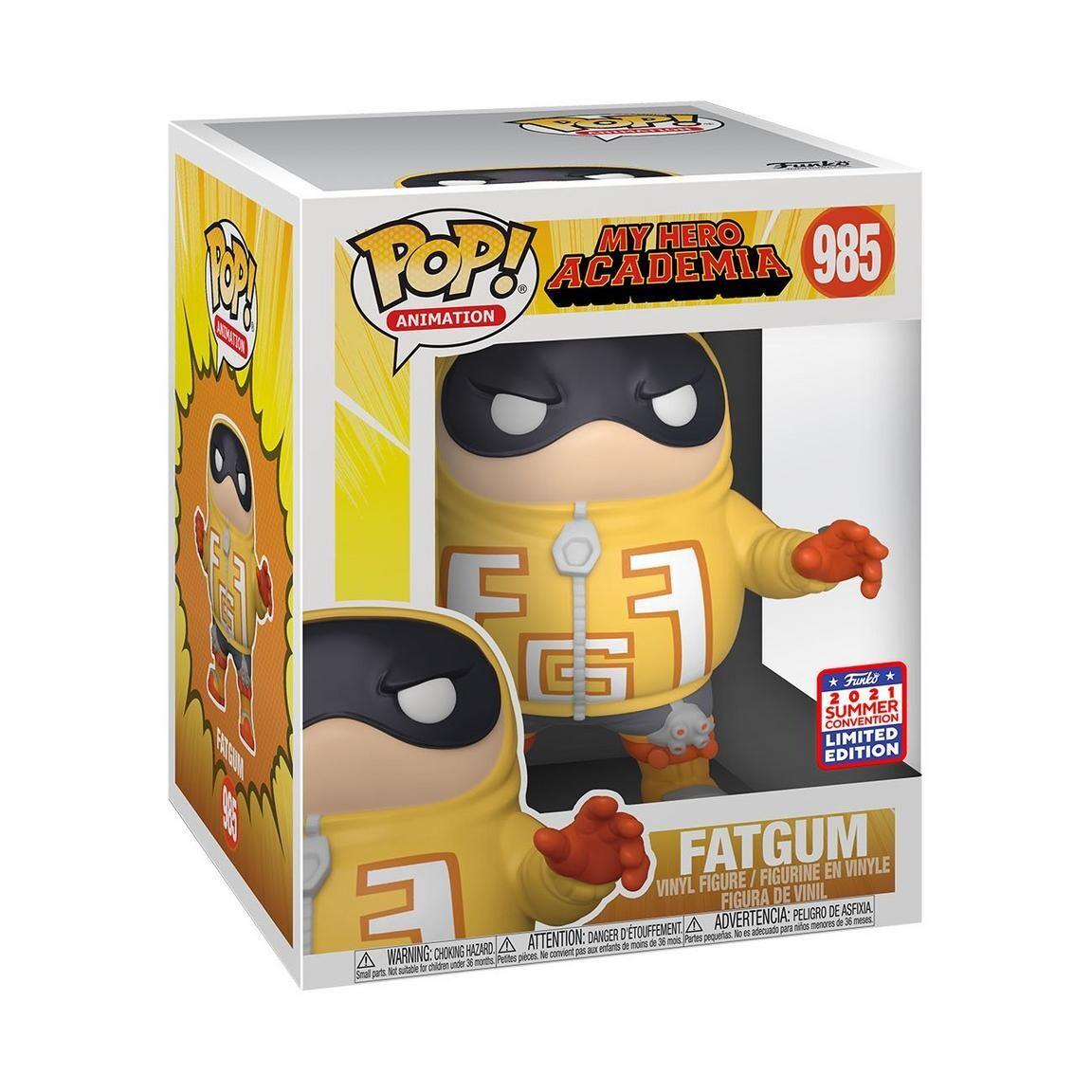 Funko Pop! Fatgum My Hero Academia Funkon Exclusive