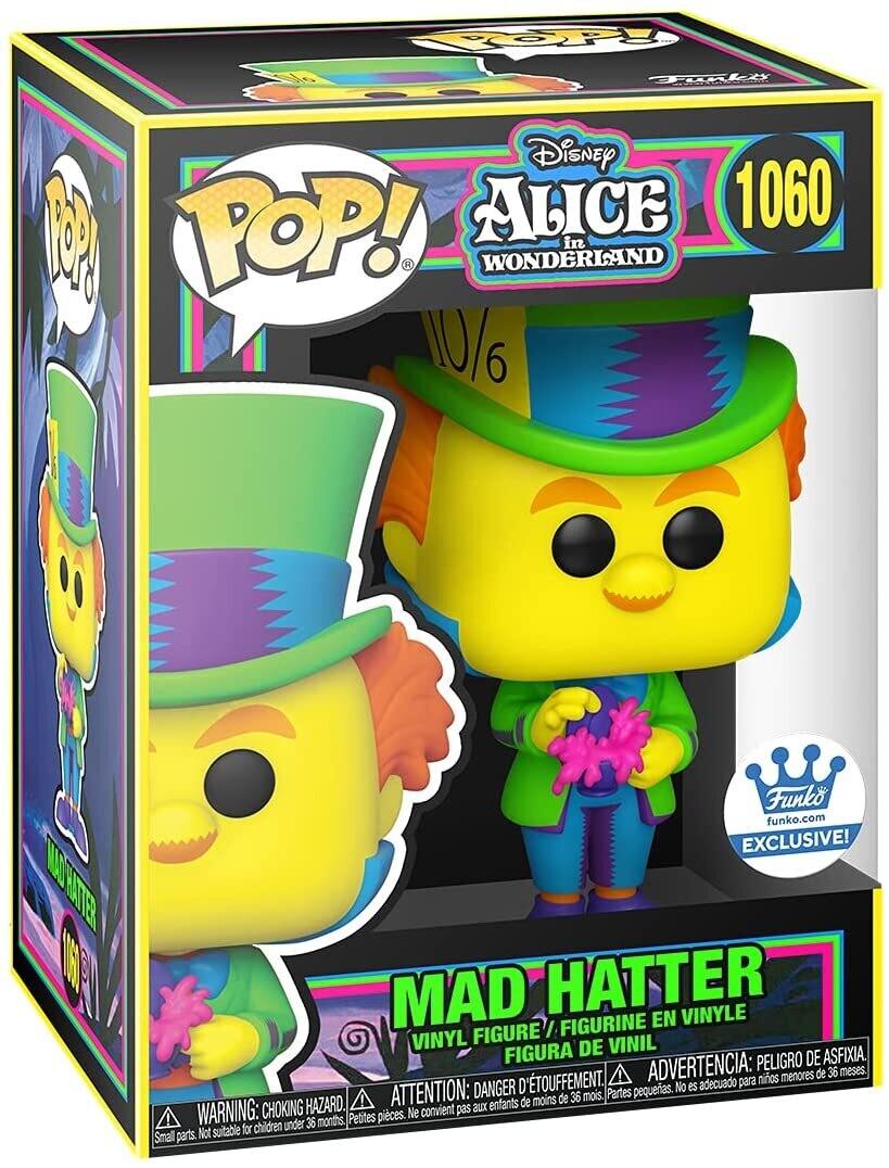 Funko Pop Mad Hatter Sombrerero Black Light #1060