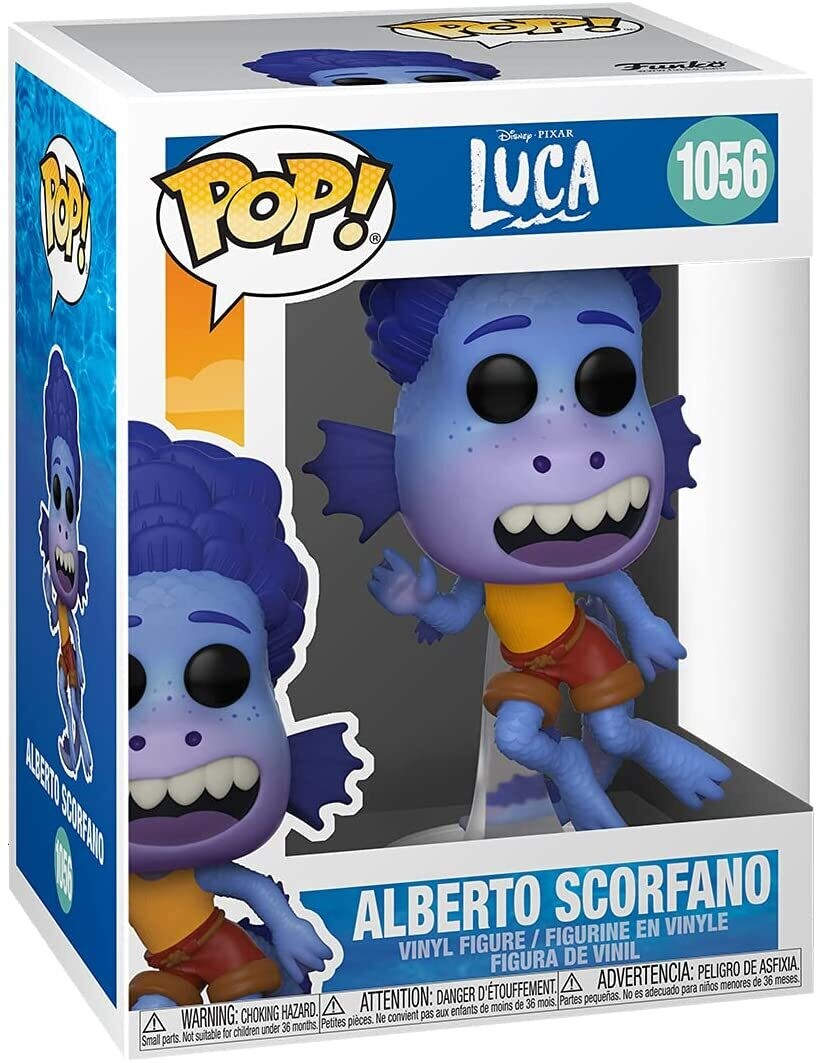 Funko Pop! Alberto Scorfano #1056 (Sea Monster) - Luca