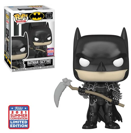 Funko Pop! Batman (Scythe) con Guadaña Funkon Exclusive