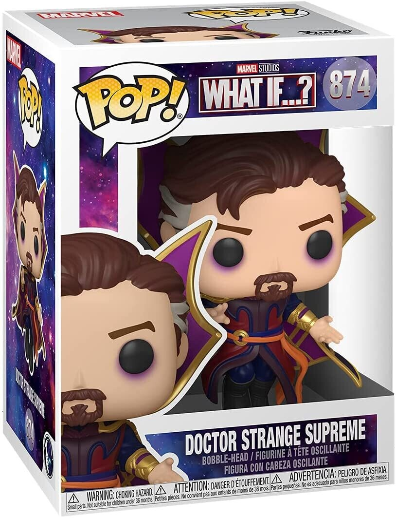 Funko Pop! Doctor Strange Supreme #874 -Marvel What If