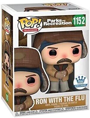 Funko Pop! Ron Swanson Flu Gripe - Parks & Recreations
