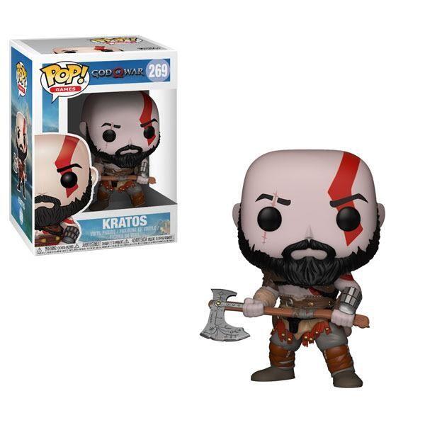 Funko Pop! Kratos con Hacha #269 - God of War
