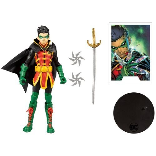 Figura Damian Wayne Robin DC Multiverse McFarlane Toys