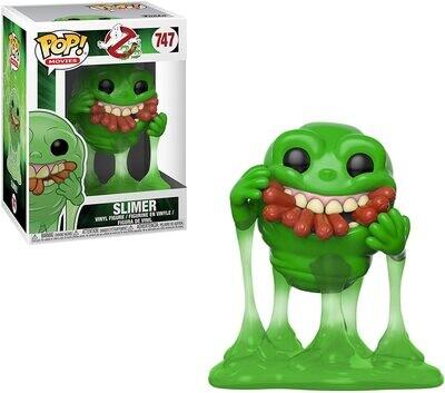 Funko Pop! Slimer Pegajoso - Ghostbusters Cazafantasmas