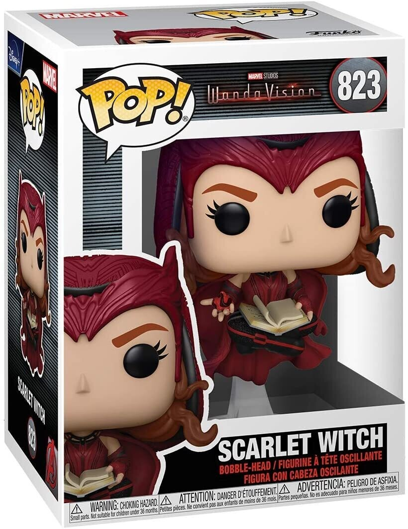 Funko Pop Scarlet Witch Bruja Escarlata 823 WandaVision