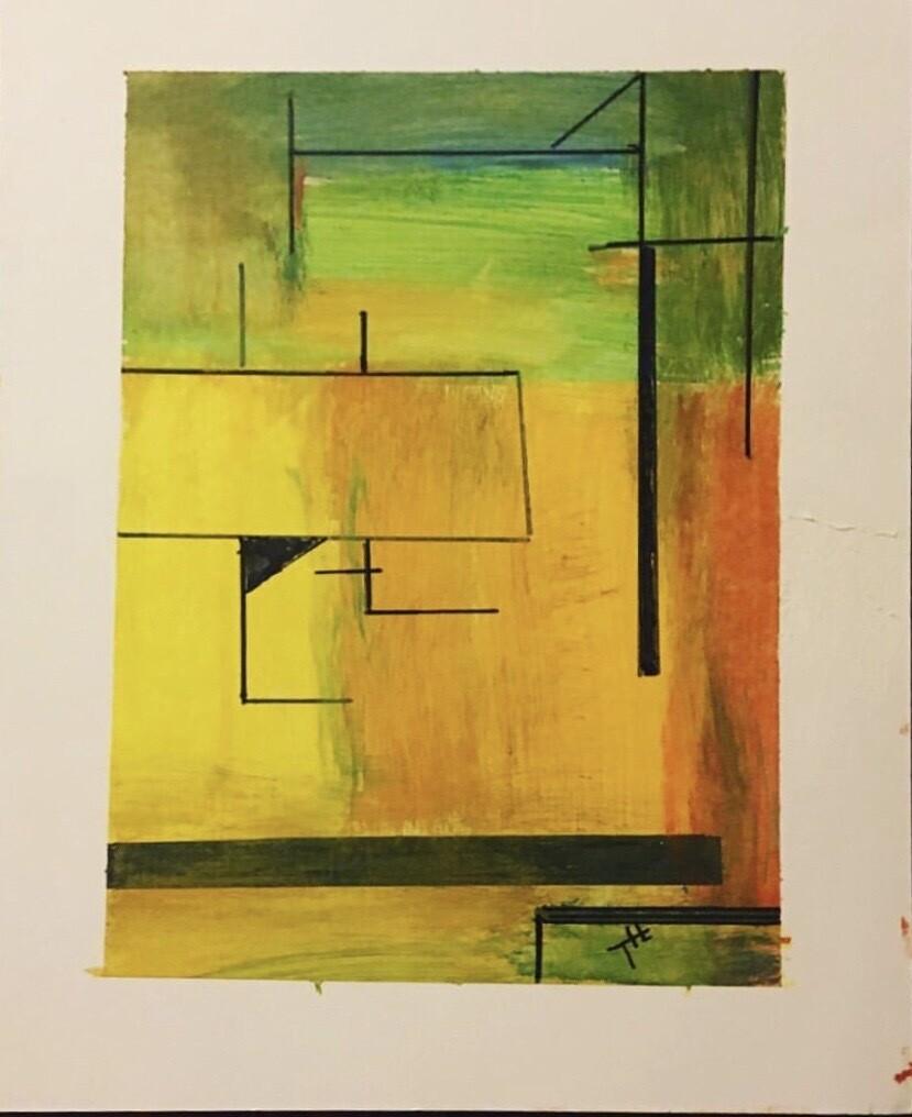 Original oil  on paper 11 x 14