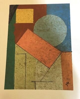 Original oil on paper. 11 x 14